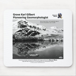 G K Gilbert IV - Pioneering Geomorphologist Mouse Pad