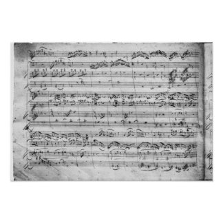 G major for violin, harpsichord and violoncello poster