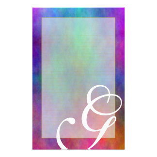 "G Monogram ""Garden Sunlight"" Fine Lined Stationery"