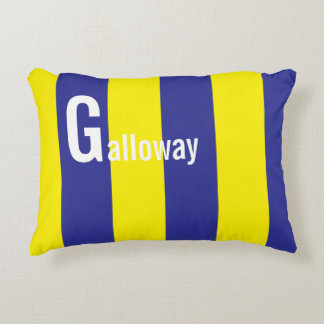 'G' Name Nautical Maritime Flag Pillow