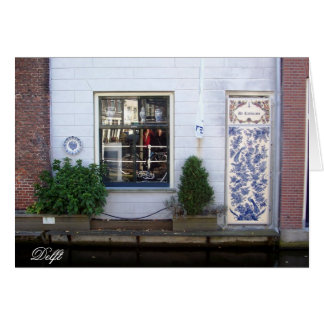 g/nc Amsterdam Delft Canal 1 Card