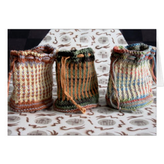 g/nc Artisanware Knit Card