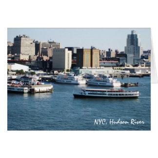 g/nc Artisanware Travel NYC Hudson River Card