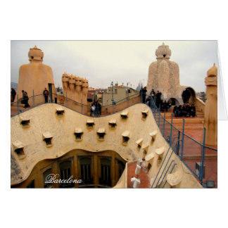 g/nc Barcelona Gaudi La Pedrera Rooftop Barcelona Card