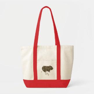 G. Pig w/Single Poopie Tote Bag