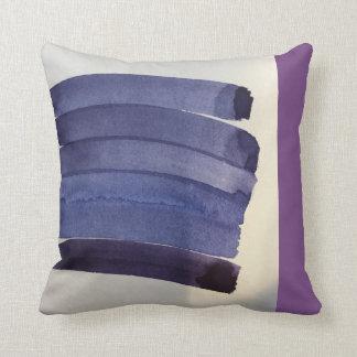 G R A P E III blueberry pillow