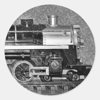 G Scale Model Train Classic Round Sticker