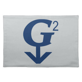G-Squared Great Grandfather Symbol Place Mats