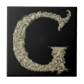 G - The Falck Alphabet (Golden) Tile