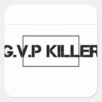 G.V.P merch Square Sticker