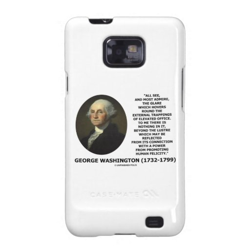 G. Washington External Trappings Elevated Office Galaxy S2 Cases