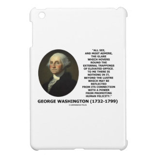 G. Washington External Trappings Elevated Office iPad Mini Cases