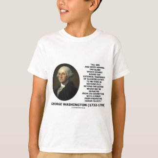 G. Washington External Trappings Elevated Office Tee Shirt