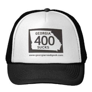 GA 400 SUCKS Cap Trucker Hat