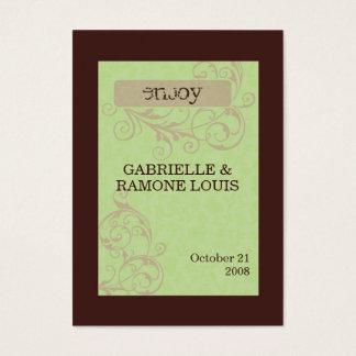 Gabby Favor Cards