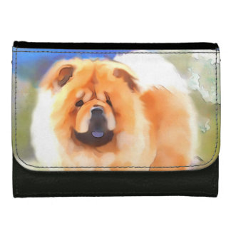 GABBY heARTdog chow Wallets For Women