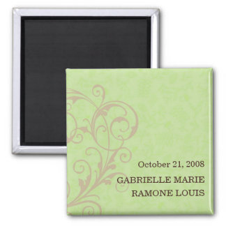 Gabby Save the Date Magnet