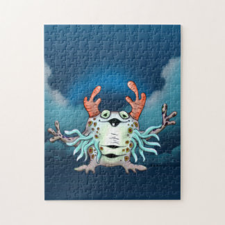 GABINATOR ALIEN PUZZLE MONSTER 11 X 14 - 2