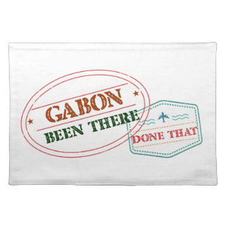 Gabon Been There Done That Placemat