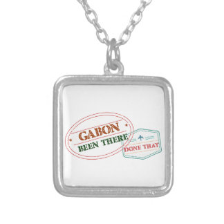 Gabon Been There Done That Silver Plated Necklace