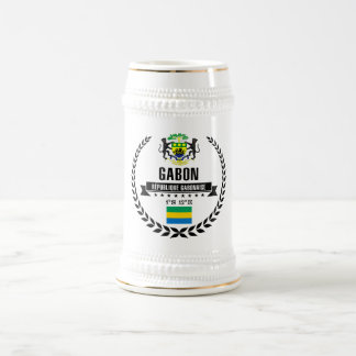 Gabon Beer Stein