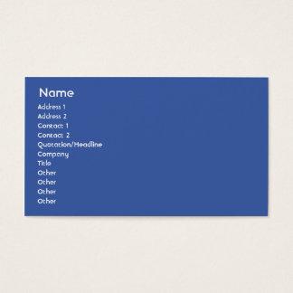 Gabon - Business Business Card