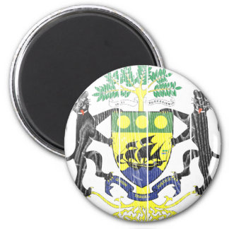 Gabon Coat Of Arms Magnet