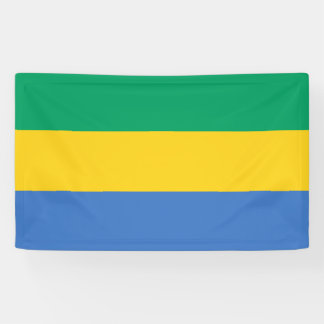 Gabon Flag Banner