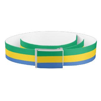 Gabon Flag Belt