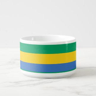 Gabon Flag Bowl