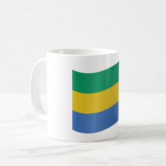 Gabon Flag Coffee Mug