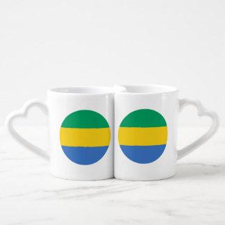 Gabon Flag Coffee Mug Set