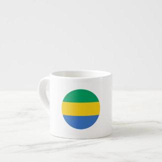 Gabon Flag Espresso Cup