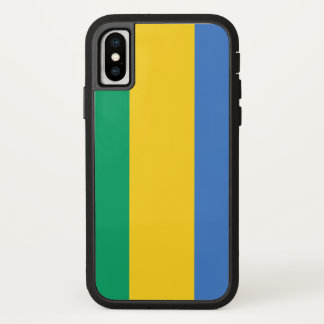 Gabon Flag iPhone X Case