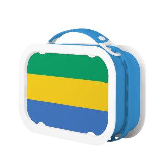 Gabon Flag Lunch Box