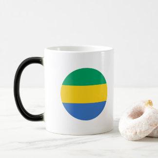Gabon Flag Magic Mug
