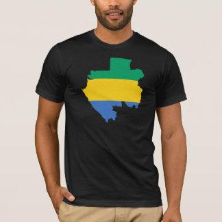 Gabon Flag Map GA T-Shirt