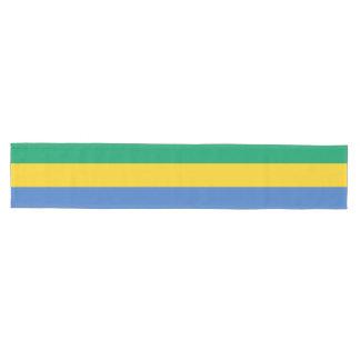 Gabon Flag Medium Table Runner