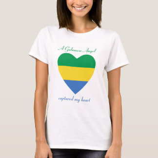 Gabon Flag Sweetheart T-Shirt