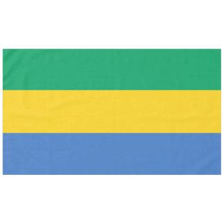 Gabon Flag Tablecloth