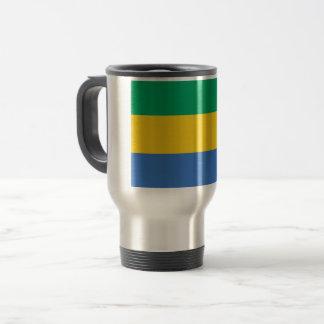 Gabon Flag Travel Mug