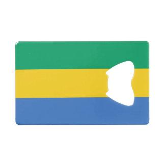 Gabon Flag Wallet Bottle Opener
