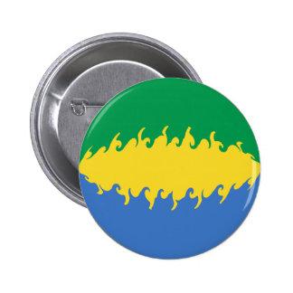 Gabon Gnarly Flag Pin