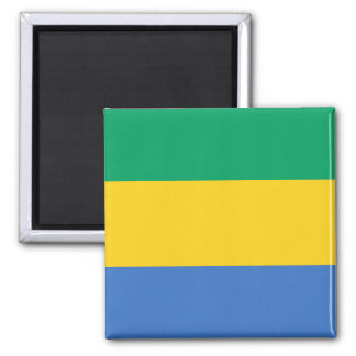 Gabon National World Flag Magnet