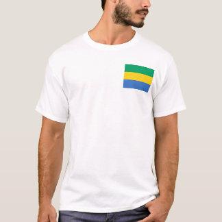 Gabon National World Flag T-Shirt