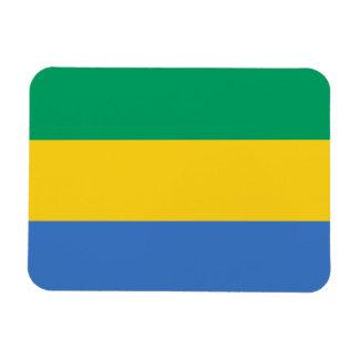 Gabonese Flag Magnet