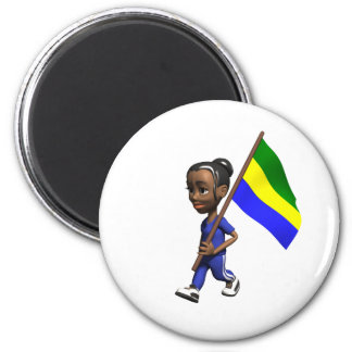 Gabonese Girl Magnet