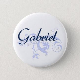 Gabriel 2 Inch Round Button