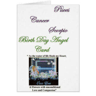 Gabriel Archangel of Pisces, Cancer, Scorpio Card