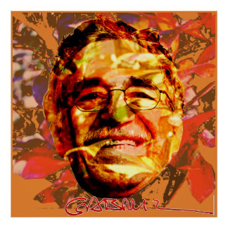 Gabriel García Márquez Poster